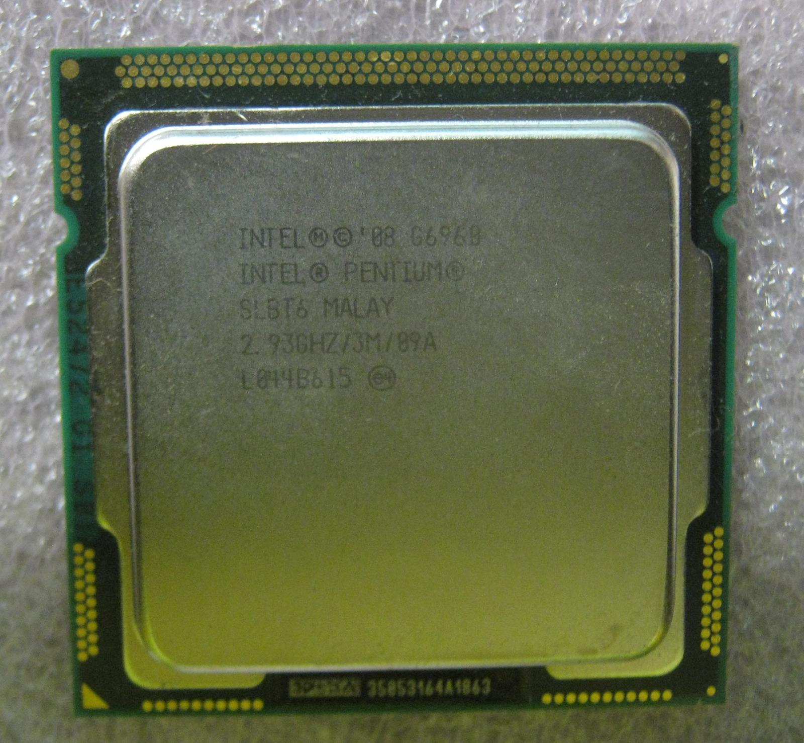 intel pentium g dual core ghz slbt lga processor intel pentium g6960 dual core 2 93 ghz slbt6 lga1156 processor 29981