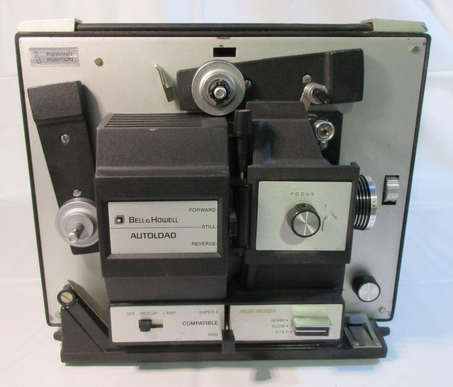 bell amp howell a super amp regular mm movie projector  product details